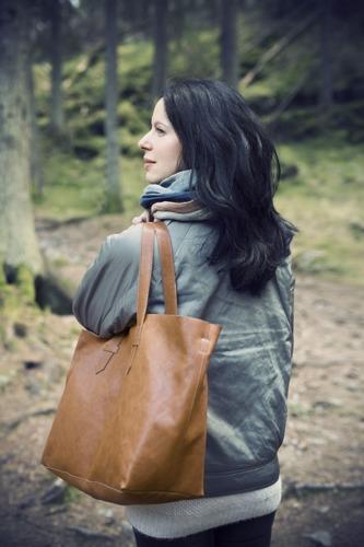 Elodie Details - Torba dla mamy Brown Leather