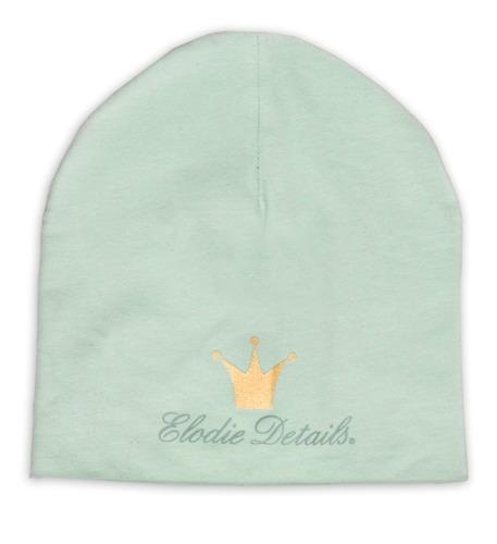 Elodie Details - czapka Dusty Green, 0-6 m-cy