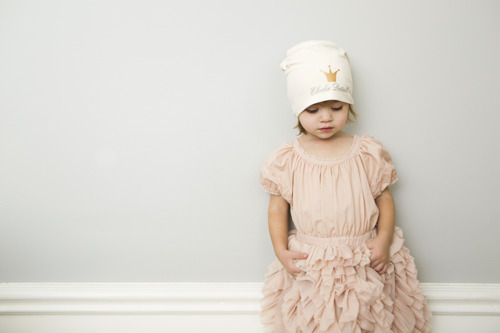 Elodie Details - czapka Vanilla White, 24-36 m-cy