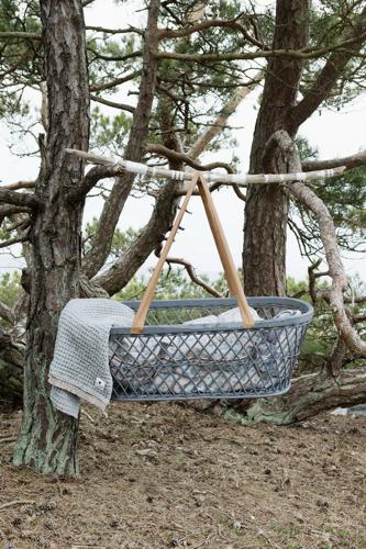 Elodie Details - kocyk bawełniany Gilded Grey