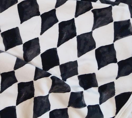 Elodie Details - kocyk bawełniany Graphic Grace