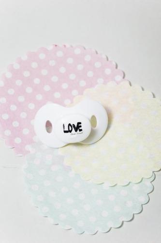 Elodie Details - smoczki Diamond LOVE