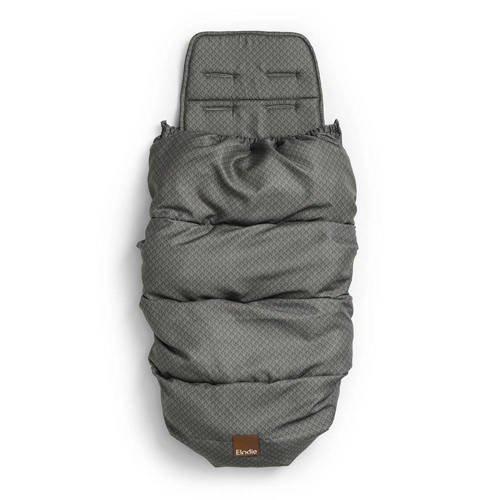 Elodie Details - śpiworek i wkładka do wózka 2w1 - Green Nouveau