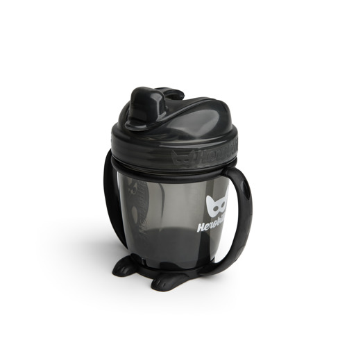 Herobility – kubek niekapek HeroSippy 140 ml, czarny