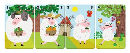 Janod - Gra karciana Rodziny na farmie