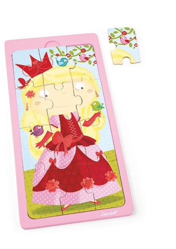 Janod - Puzzle drewniane Księżniczka Jessica