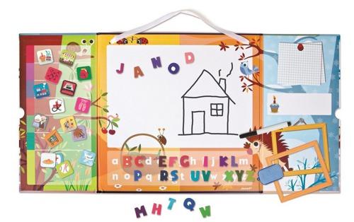 Janod - Tablica magnetyczna edukacyjna Triptik