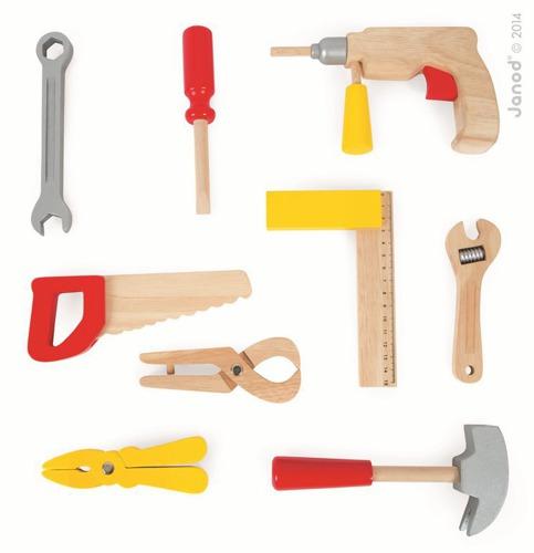 Janod - Walizeczka z narzędziami Bricolo