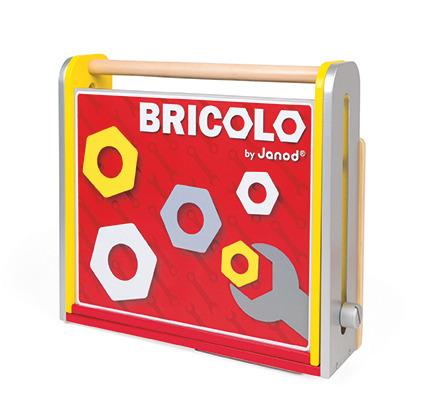 Janod - Warsztat z narzędziami składany Bricolo