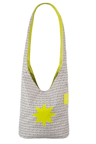 Lassig - Casual Label Torba Fan Shopper Twinkle tender shoots