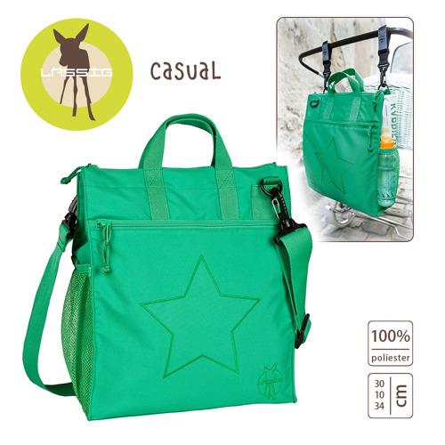 Lassig - Casual Label Torba do Wózka Star deep green