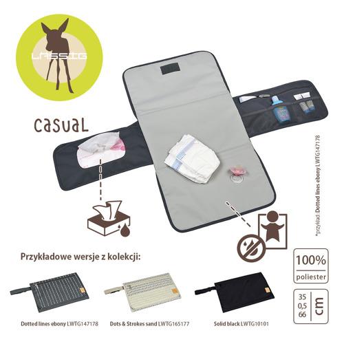 Lassig - Casual Label Zestaw do Przewijania Solid black