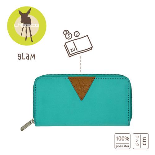 Lassig - Glam Label Portfel Signature Aqua