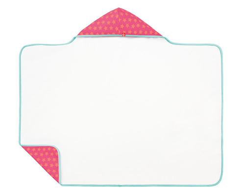 Lassig - Ręcznik z kapturem Peach star