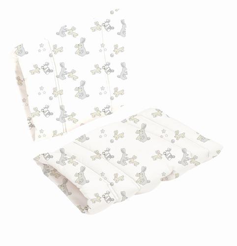 Poduszka do krzesła DanChair - Bunny Hop - szary