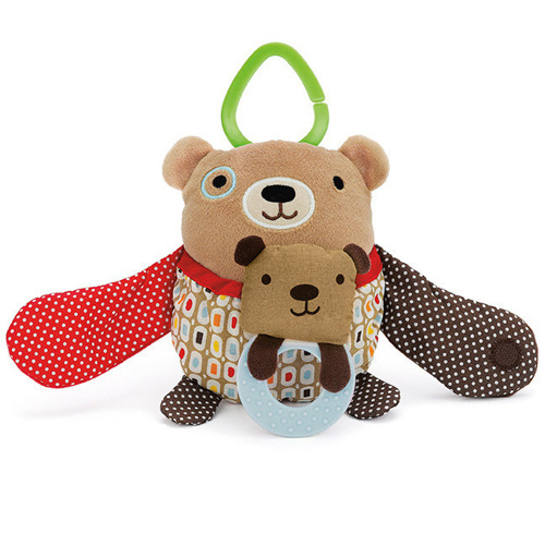Skip Hop - Zabawka do wózka Hug and Hide Miś