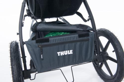 THULE Urban Glide Dark Shadow wózek do biegania + gondola