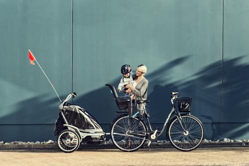 Thule RideAlong fotelik rowerowy - ciemnoszary