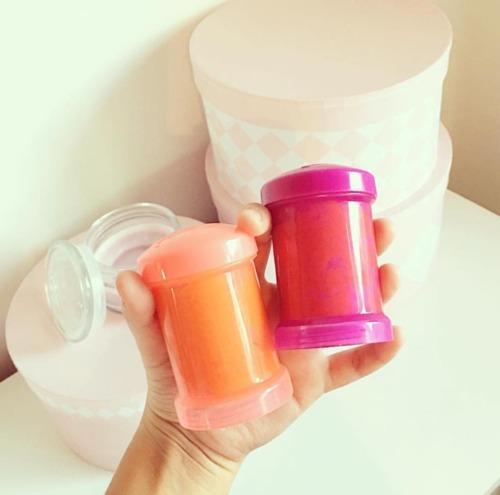 Twistshake - Antykolkowa butelka do karmienia, pomarańczowa 260ml
