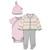 Skip Hop - Zestaw Welcome Home 4szt. Pink NB